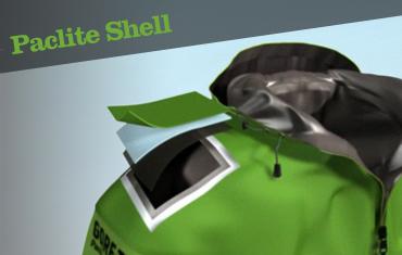 gore-tex paclite shell