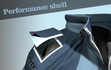 gore-tex performance shell