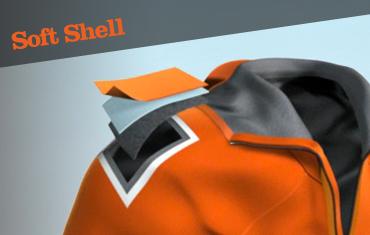 gore-tex soft shell