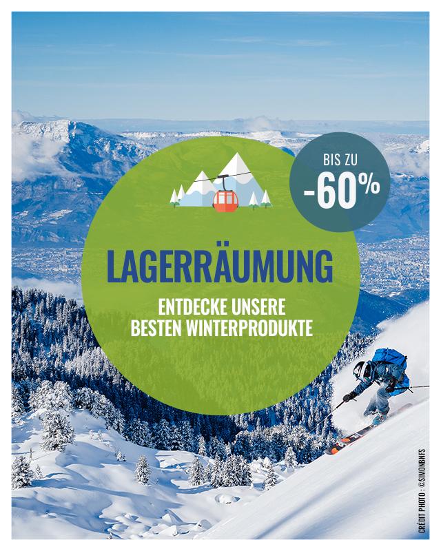 Lagerraümung: bis zu -60% entdecke unsere besten winterprodukten!