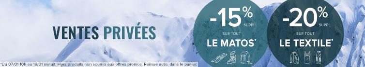Ventes Privées Snowleader : -15% sur le matos et -20% sur le textile !