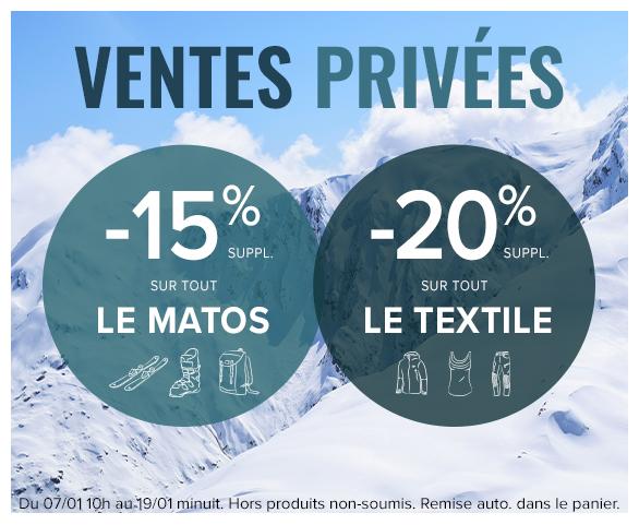 Ventes Privées Snowleader : -20% sur tout le textile et -15% sur tout le matos !