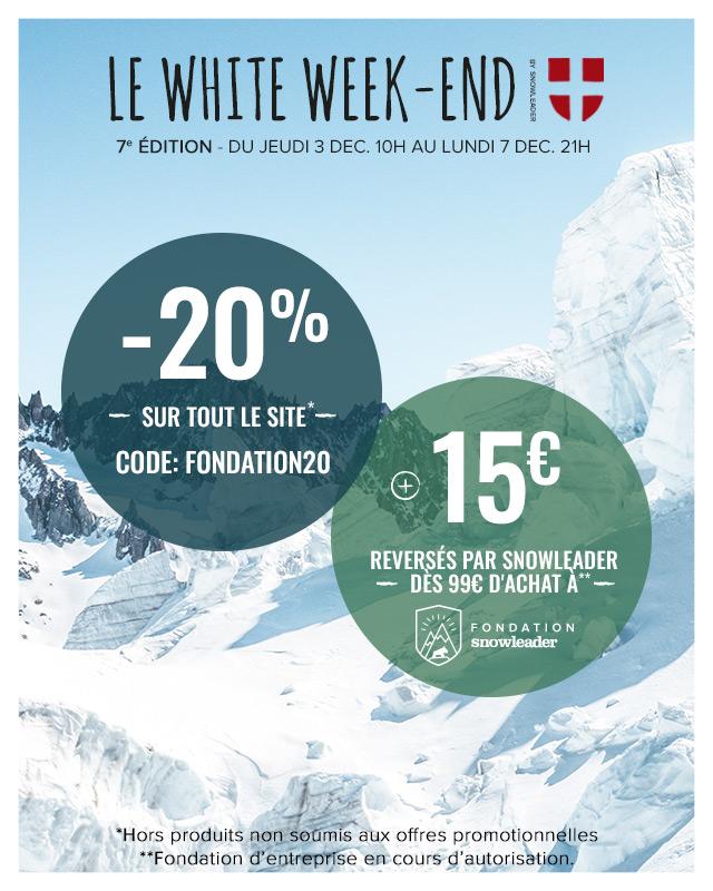 White Week-End : -20% suppl. sur tout le site !