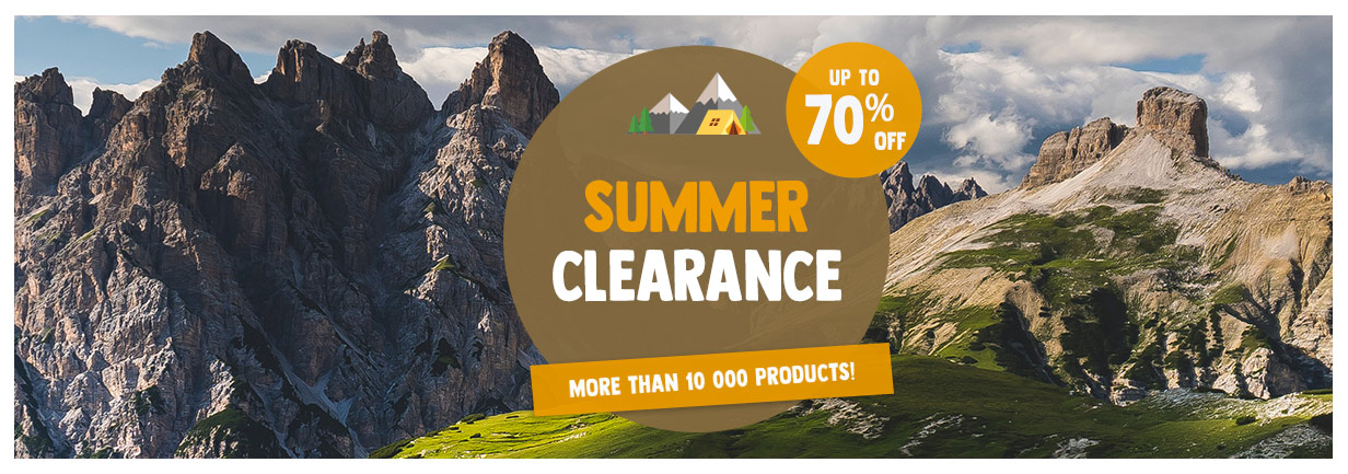 Summer Clearance: up to 70% off more than 10 000 products!
