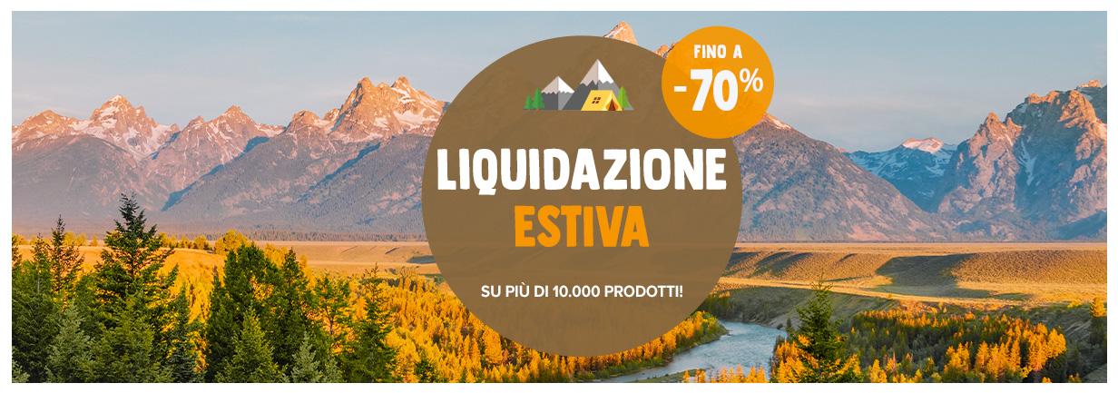Liquidazione: fino a -70% !