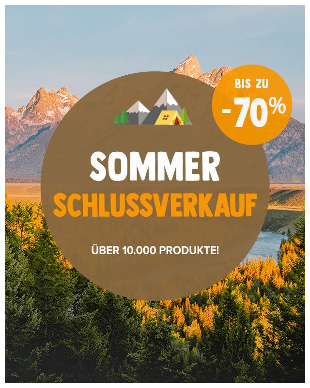Sommer Schlussverkauf: bis zu -70% zusätzlich !