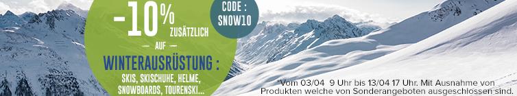 -10% zusätzlich auf winterausrüstung : Ski, Snowboard, Tourenski...5:5