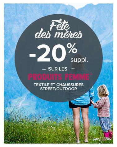 Bandeau fête des mères 2020 Snowleader Outdoor Streetwear -20%