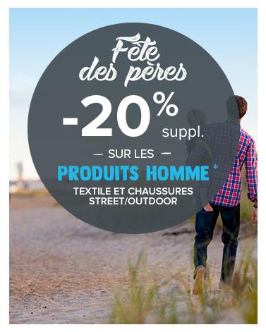 Bandeau fête des pères 2020 Snowleader Outdoor Streetwear -20%