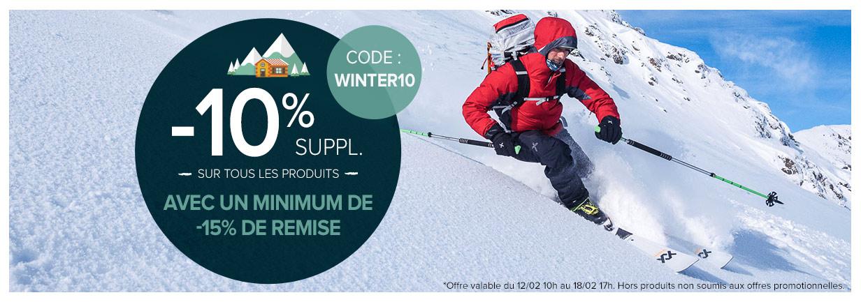Déstockage d'hiver, plus de 10 000 produits jusqu'à -80% Snowleader