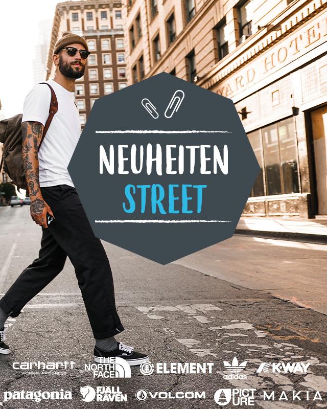 Entdecken Neuheiten Street!