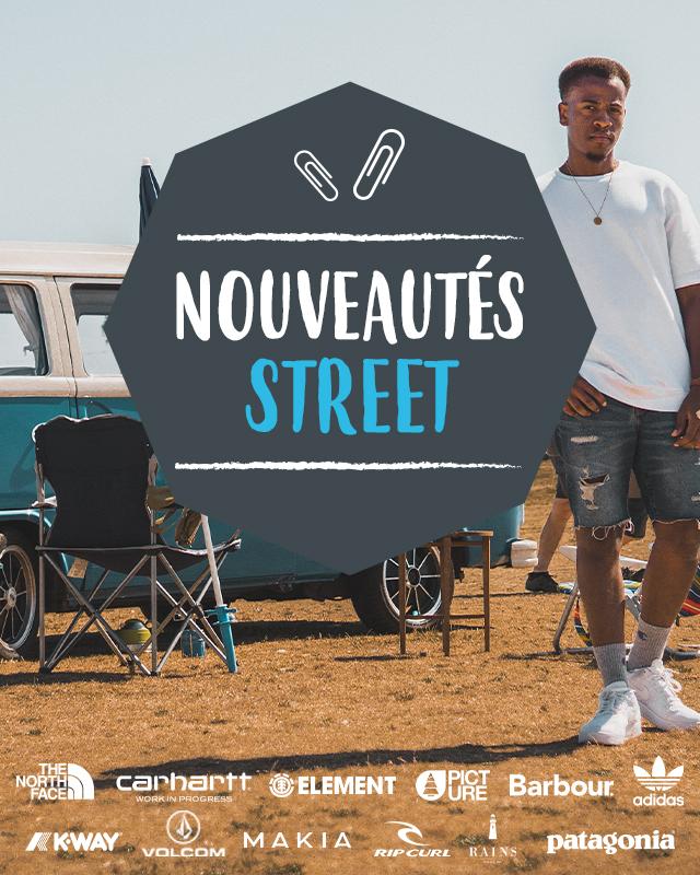 Découvrez les nouveautés Street printemps/été 2021 !