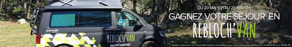Gagnez un séjour en Rebloch'Van pour toute commande passée !