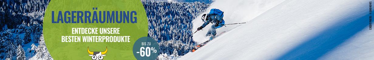 Lagerraümung: Entdecke unsere besten Winterprodukten