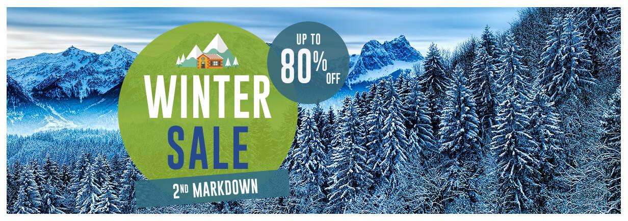 Snowleader uk winter sale banner