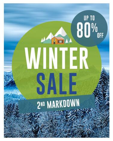 Snowleader uk winter sale mobile banner