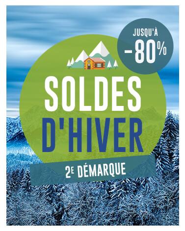 Bannière mobile soldes d'hiver Snowleader