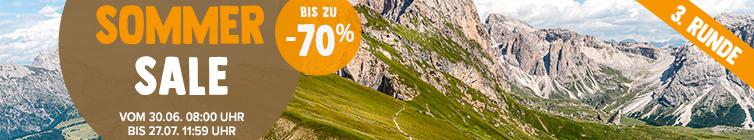 Summer Sale: bis zu -70% zusätzlich !