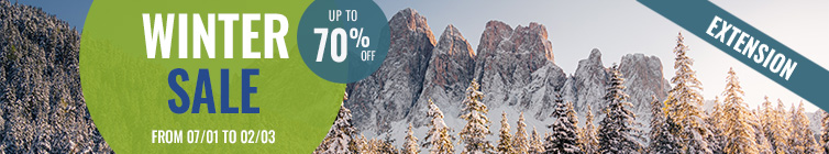 Winter Sale: up to 70% off !