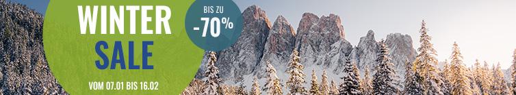 Winter Sale: bis zu -70% zusätzlich !