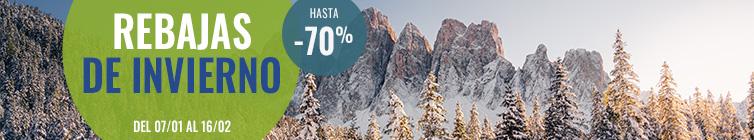 Rebajas de Invierno : Hasta -70% !