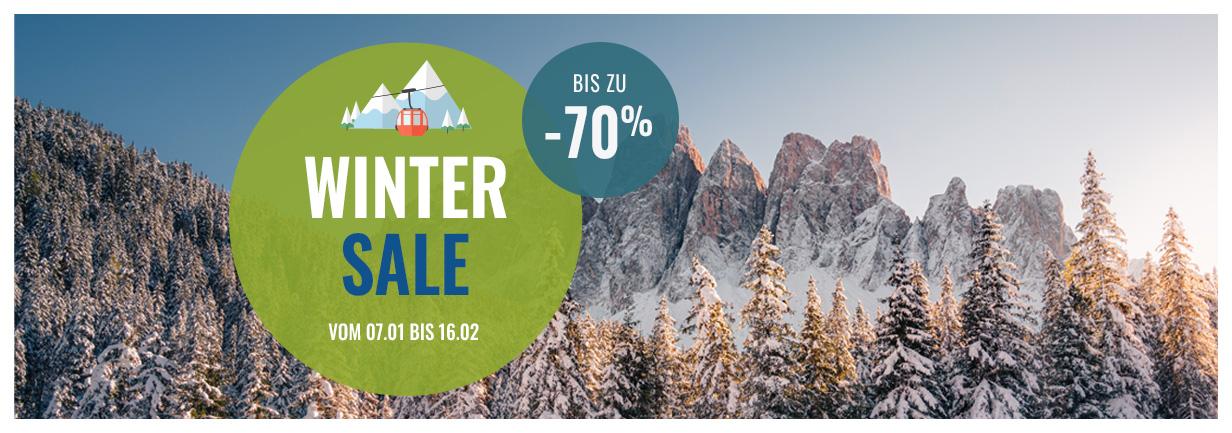 Winter Sales: Bis zu -70% auf über 16 000 Produkte!