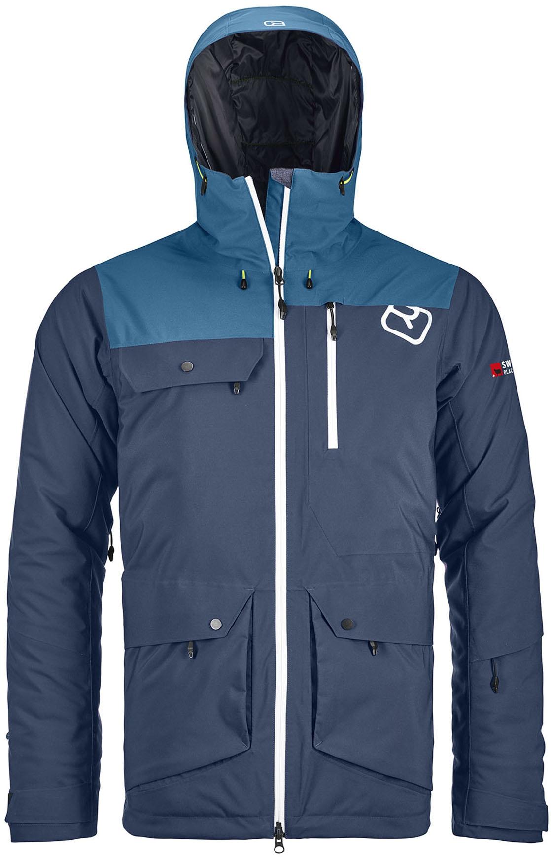 Night Andermatt Jacket 2l Swisswool M Blue kZiuwOPXTl