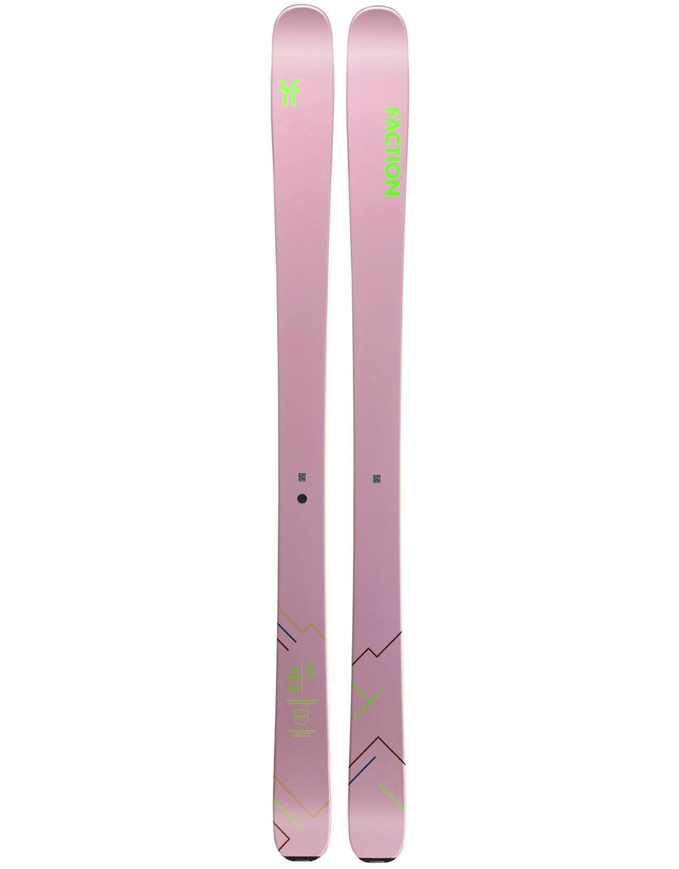 Faction Agent 2.0 X Skis 2020