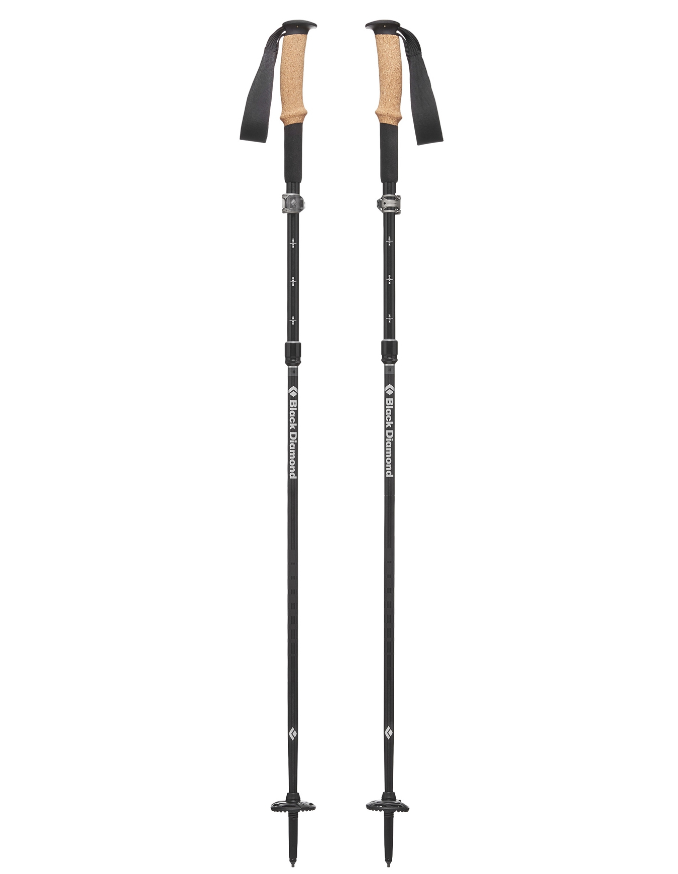 120 cm Black Diamond Alpine Carbon Z Bâtons De Trekking Carbone