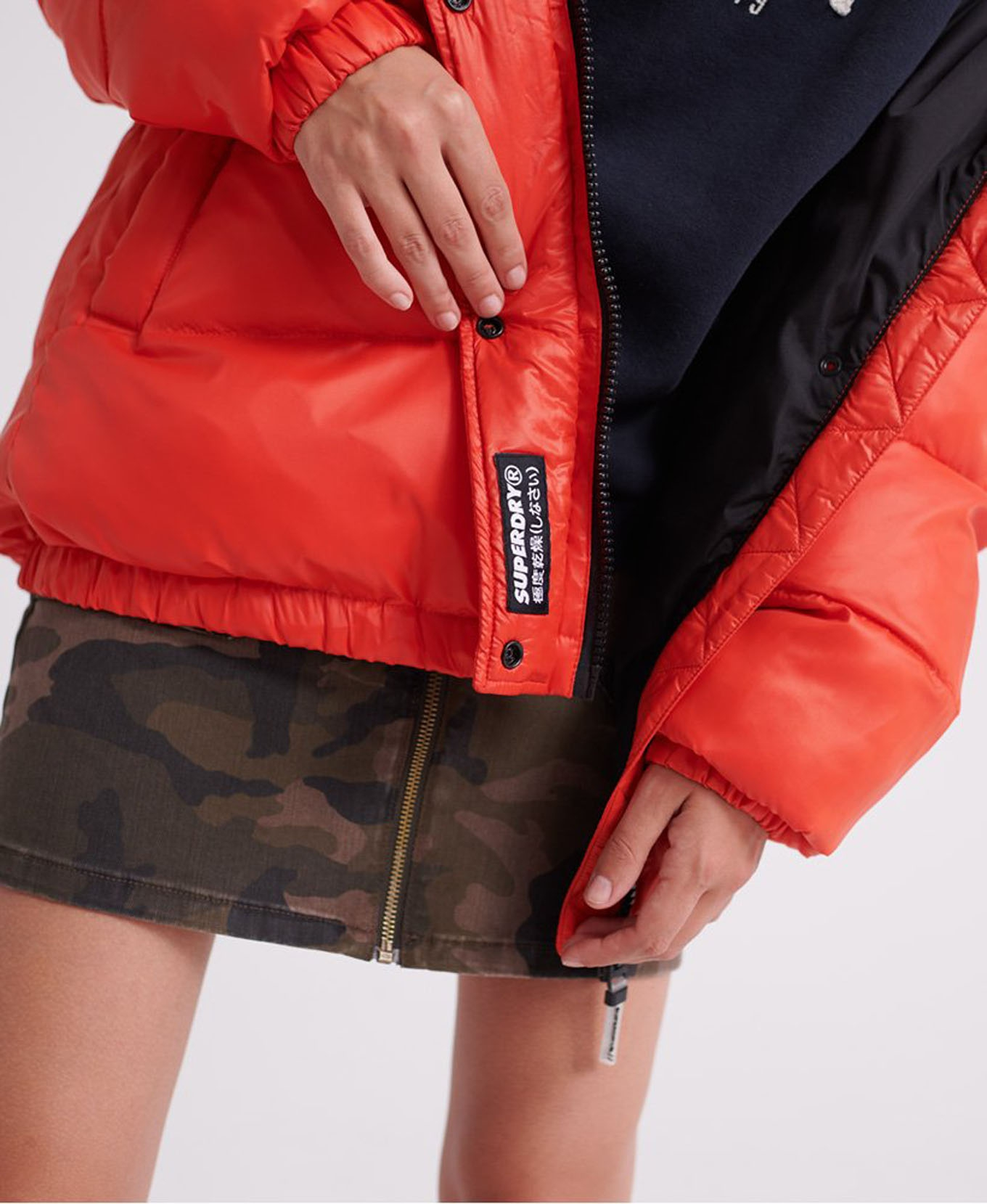 Astrid Puffer W Apple Red