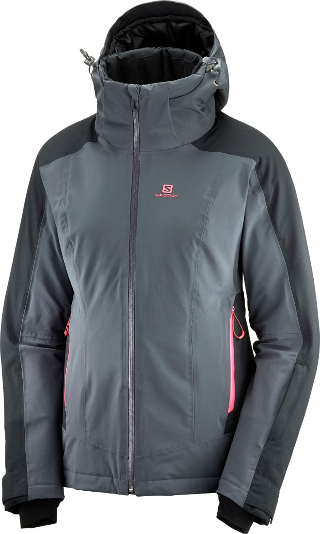 Salomon Brilliant Jacket W EbonyBlack : Skijacken : Snowleader L8C47