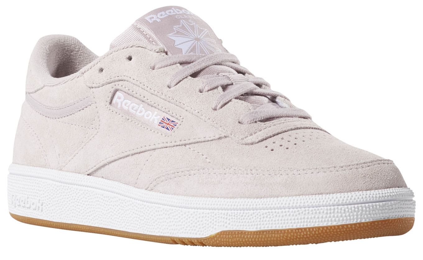 sports shoes 5e89e 0f9d8 ... Club C 85 Premium Basic-Ashen Lilac White Gum6 ...