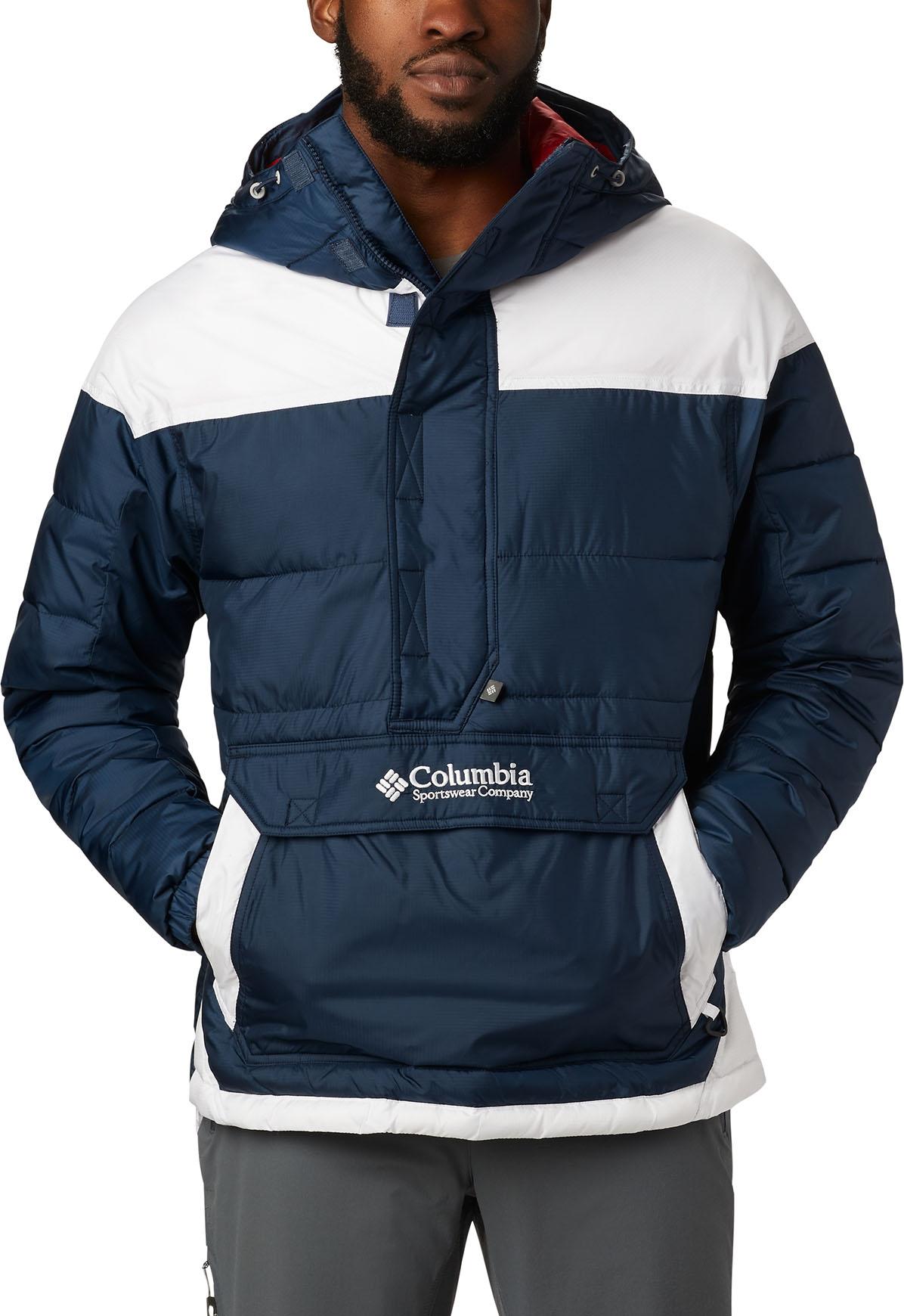 Columbia Lodge Pullover Jacket Collegiate NavyWhite