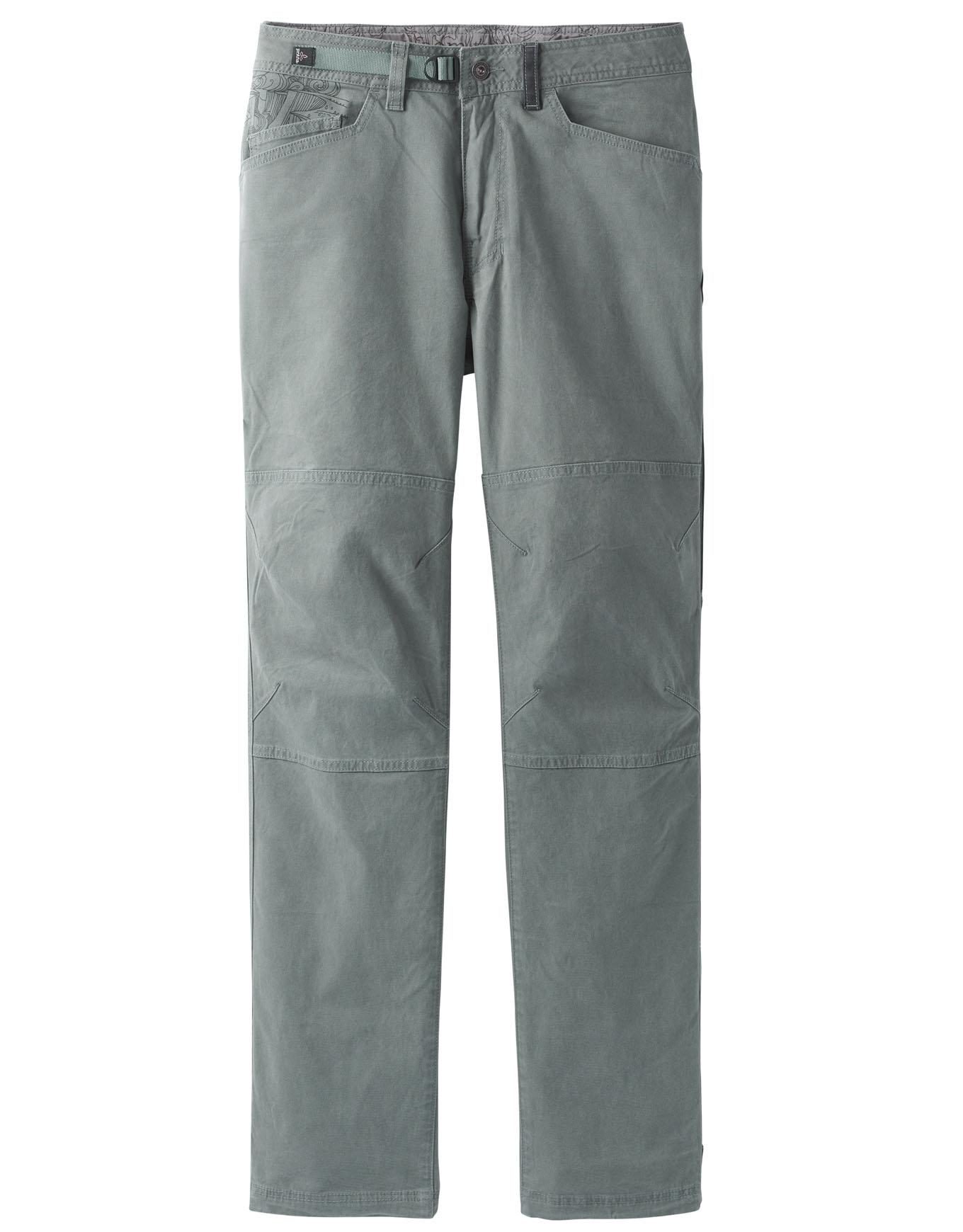 prana continuum pantalón de tela black hombre pantalones