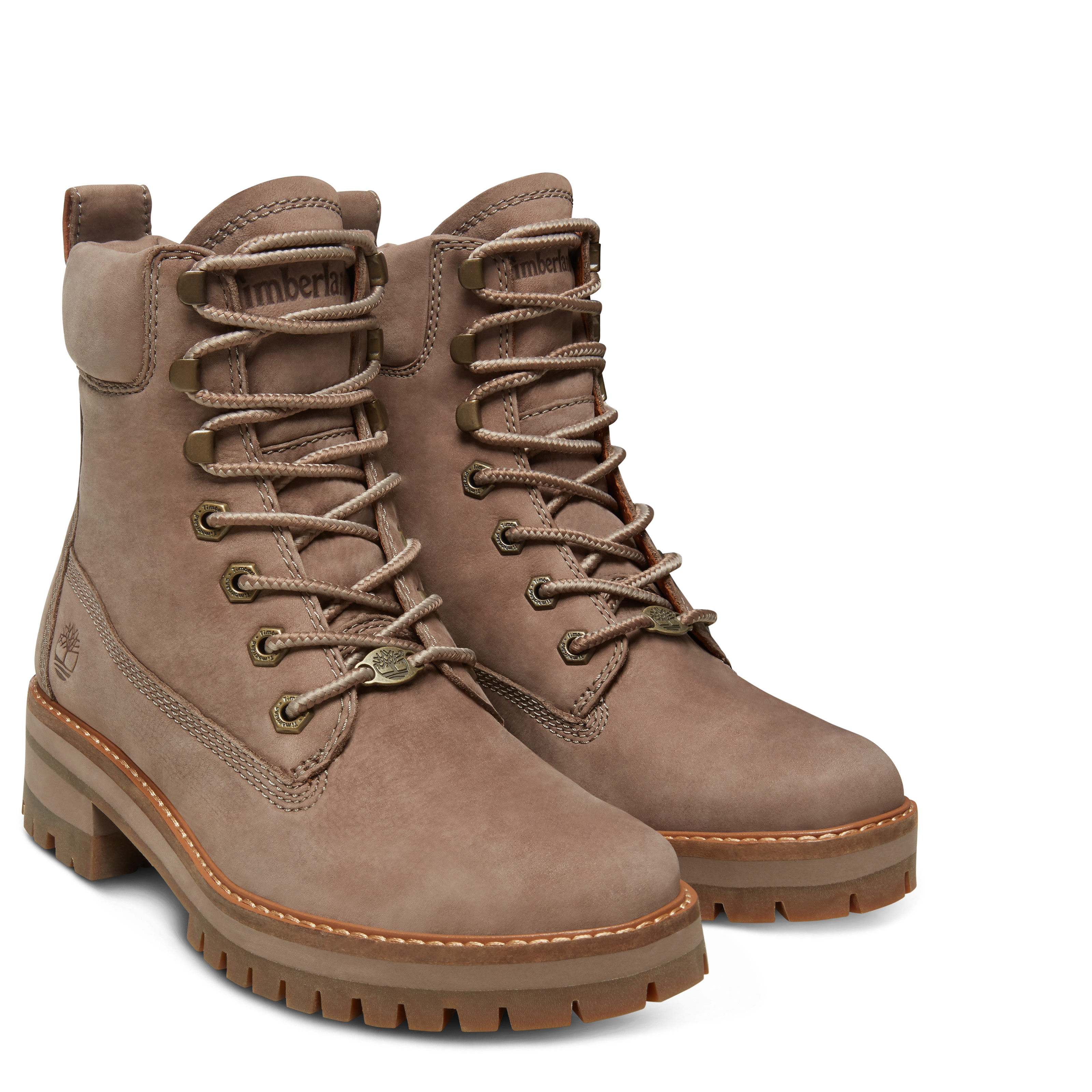 Courmayeur Valley Yellow Boot Taupe Gray