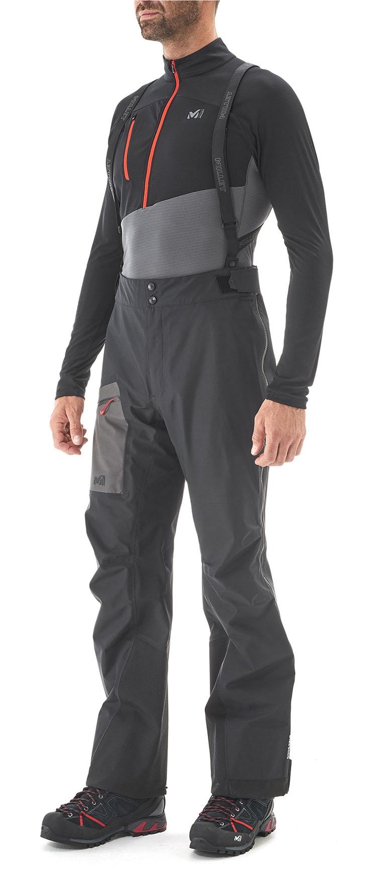 Elevation Gtx Pant Black Noir Millet   Pantalons ski de randonnée ... 289d3cee0d27
