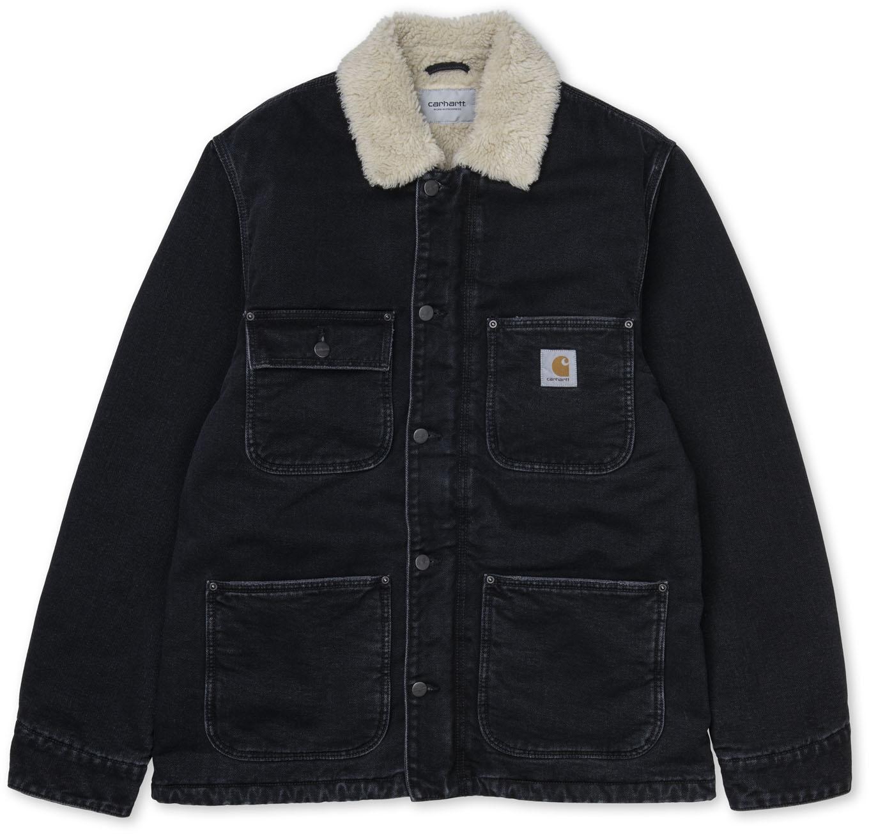 Fairmount Coat Black Stone Washed Carhartt
