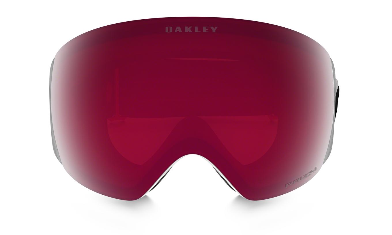 Flight Deck Matte White Prizm Rose Oakley   Masques de Ski   Snowleader e53403e9fb5