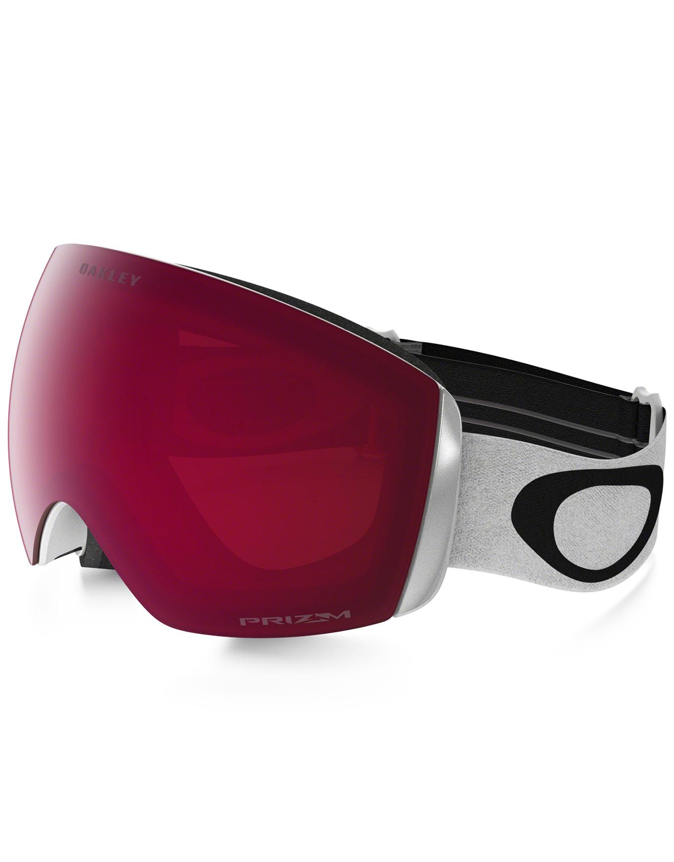 Masque de Ski Oakley Flight Deck Matte Black Prizm Rose par