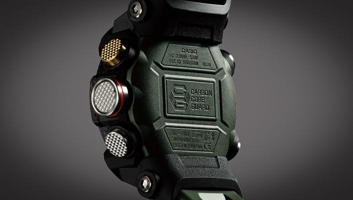 G Shock Mudmaster Carbone GG B100 1AER Casio : Montres  uuo1U