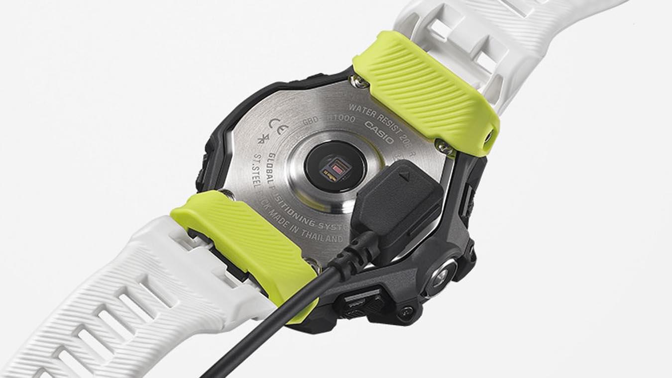 G Squad HR GBD H1000 1A7ER Casio : Montres outdoor : Snowleader  YfSd5