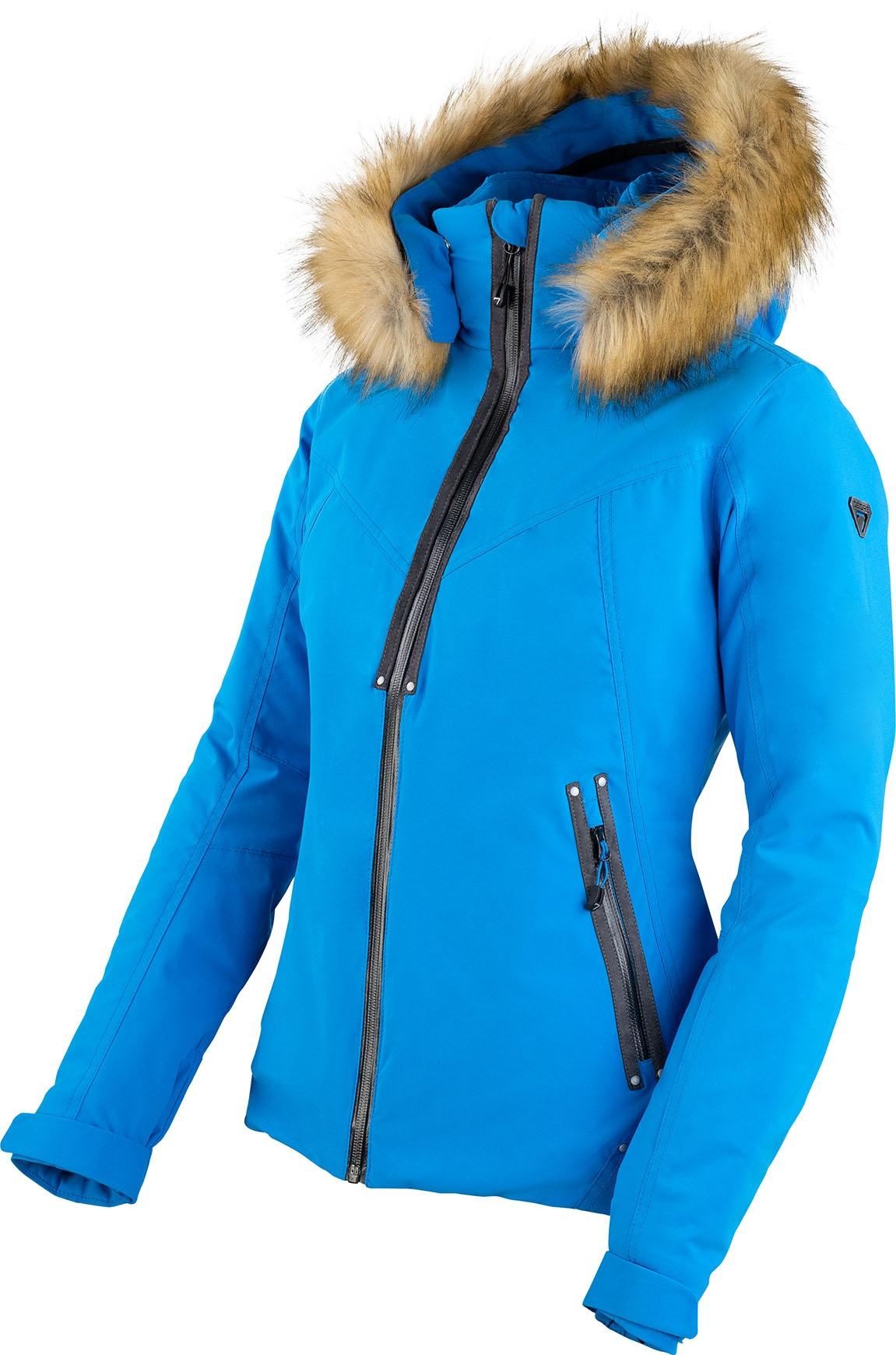 DEGRE 7 Blouson Ski Geod Femme Degre7 44 Bleu Marine