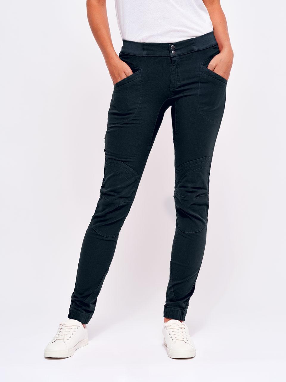 Bleu Marine Pantalon Laila Peak Femme M LOOKING FOR WILD