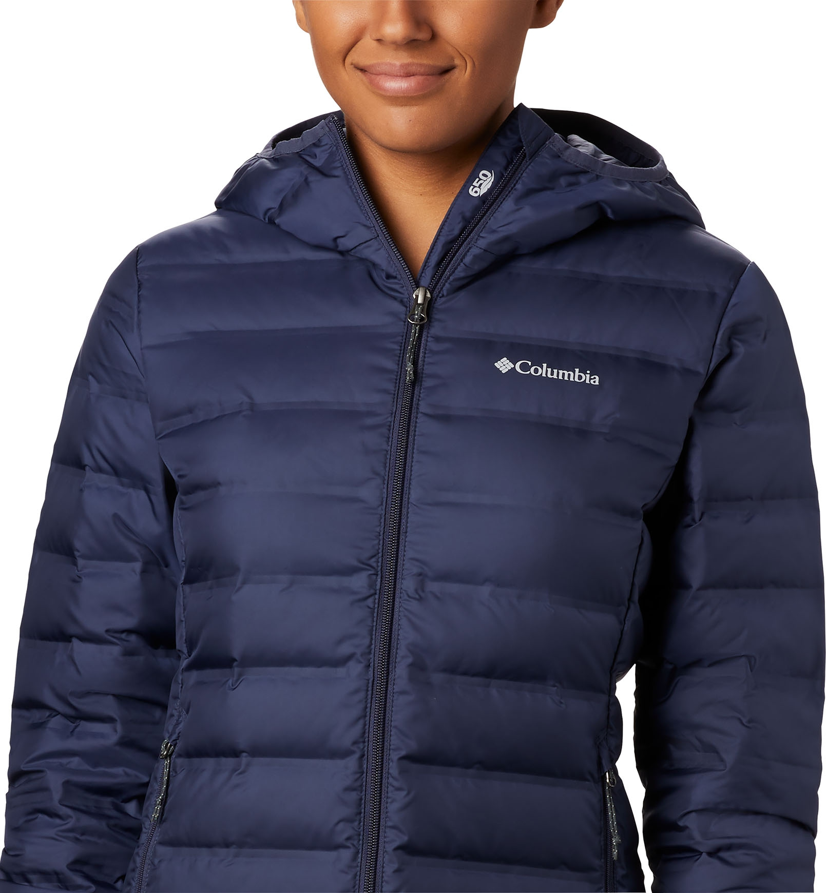 Polyester Lake 22 Hooded Jacket Columbia Kapuzenjacke f/ür Damen