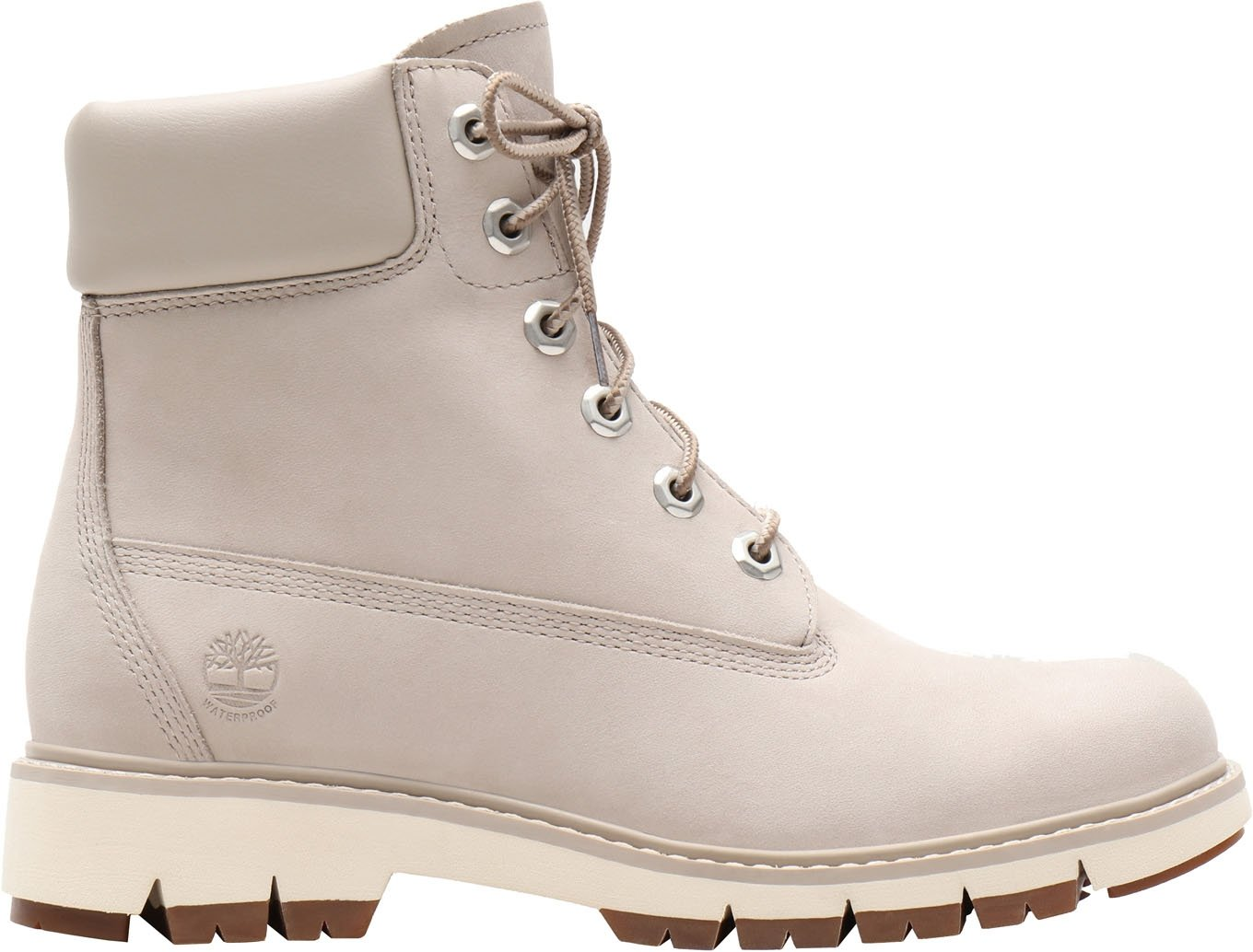 Lucia Way 6in WP Boot Gris Clair