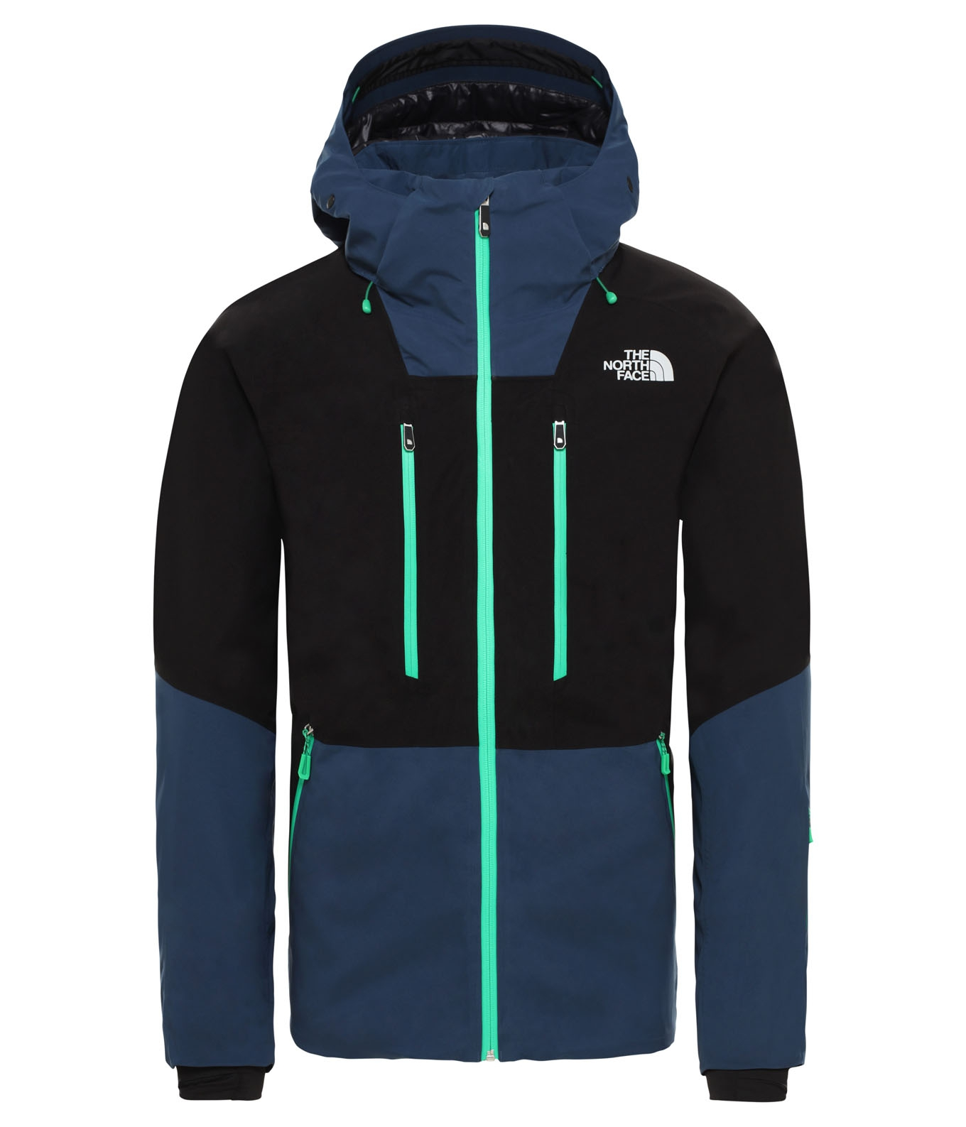 M Anonym Jacket Tnf BlackBlue Wing Teal