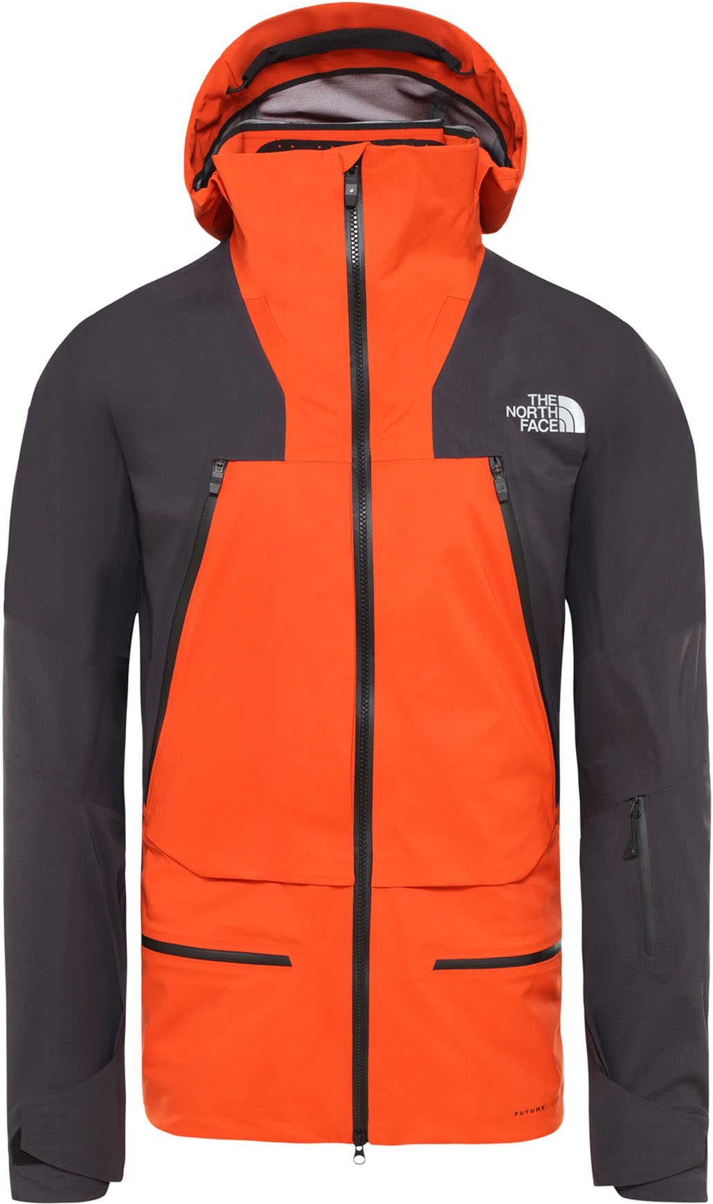 M Purist Jacket Papaya Orange/Weathered Black