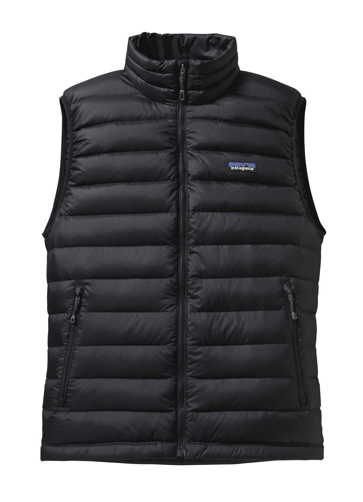 48c2482194d M s Down Sweater Vest Black Patagonia   Doudounes   Snowleader