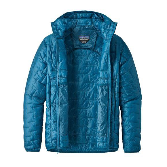 c787a12d8ed M s Micro Puff Hoody Balkan Blue Patagonia   Doudounes   Snowleader