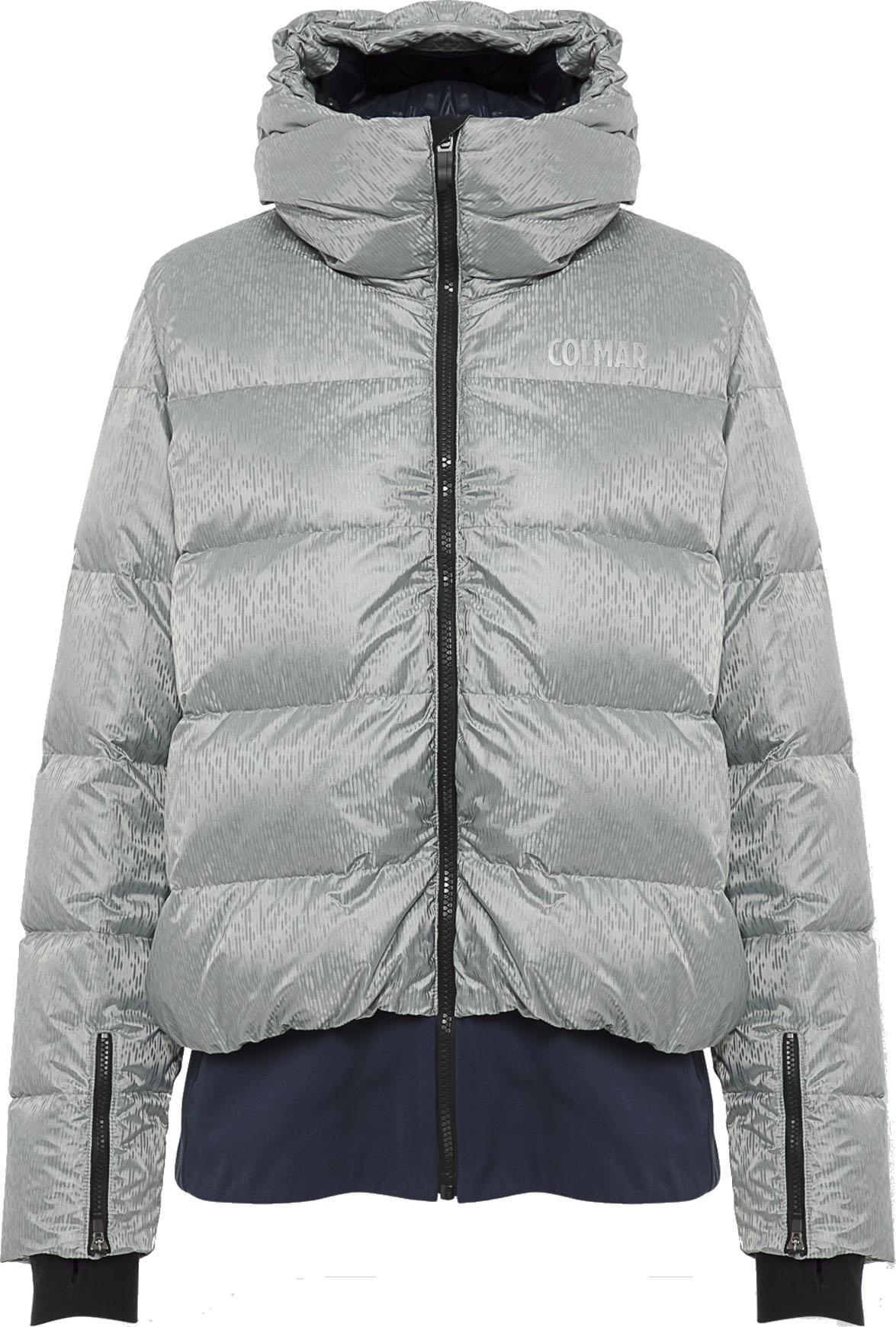 Ladies Down Ski Jacket Megève Greystone Blue Black